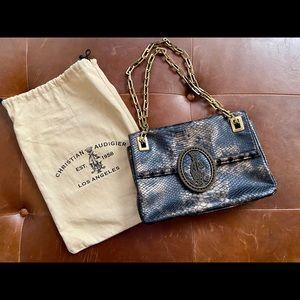 Christian Audigier leather handbag 🌸Host Pick🌼
